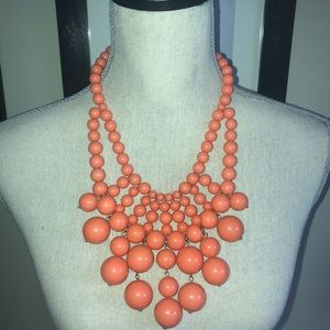 Peach statement piece